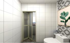 干湿分离浴室防水